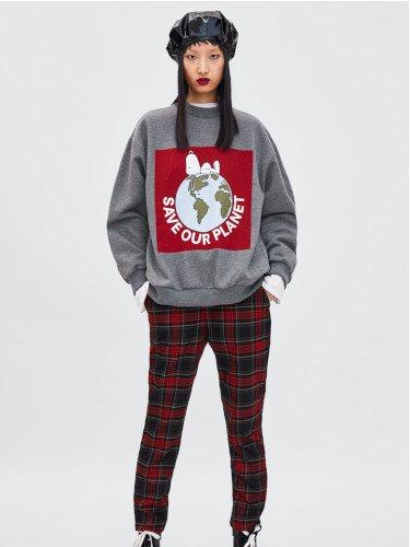 Sudadera de Snoopy de la colección otoño/invierno 2018/2019 de Zara
