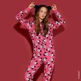 Pijama rosa con estampados de la colección de Mickey Mouse de Tezenis Underwear