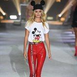 Camiseta blanca con estampados de la colección de Mickey Mouse de Tezenis Underwear