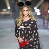 Pijama negro con estampados de Minnie  de la colección de Mickey Mouse de Tezenis Underwear