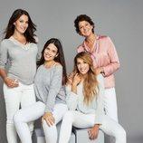 Cuatro de las modelos posando para la campaña #MUYNOSOTRAS de Women'secre