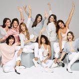 Modelos al natural posando para la campaña #MUYNOSOTRAS de Women'secret