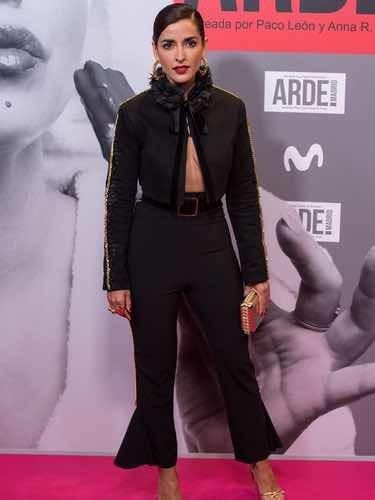 Inma Cuesta muy sexy en la premiere de 'Arde Madrid'