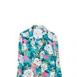 Camisa con estampado de flores de Sfera