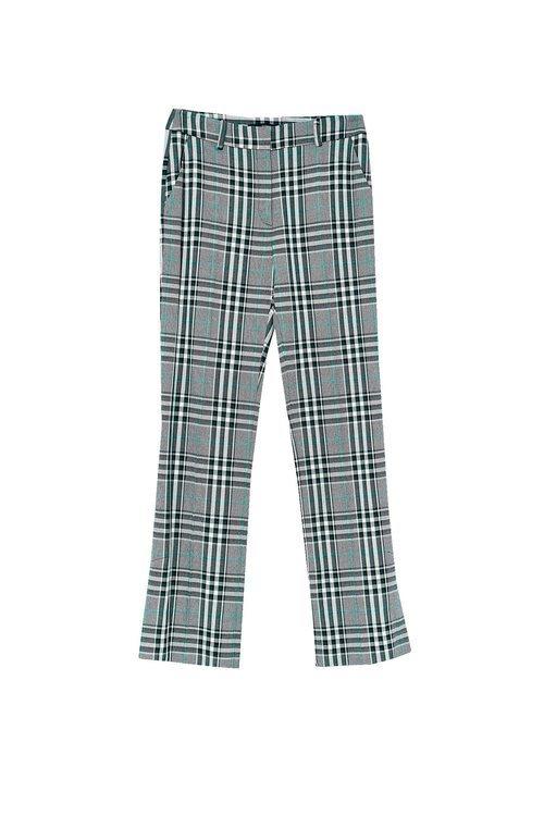 Pantalón de cuadro tartán gris de Sfera