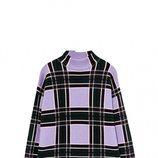 Jersey lila con cuadros de Sfera