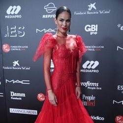 Mireia Canalda triunfa con el encaje y el tul en la gala 'People in Red' 2018