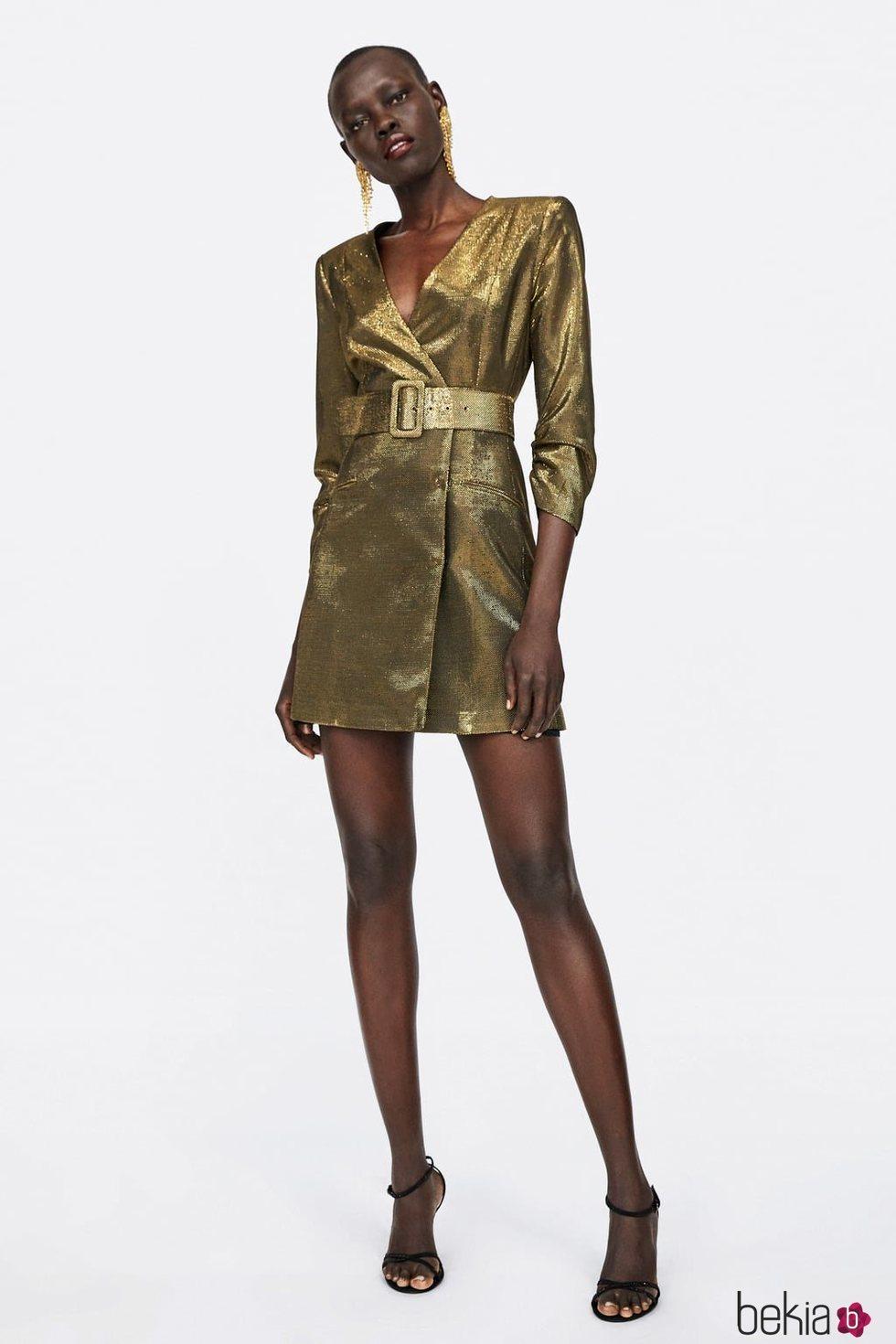 Zara Colección Anterior Blazer Vestido Navidad 2018 La De qwIYw1
