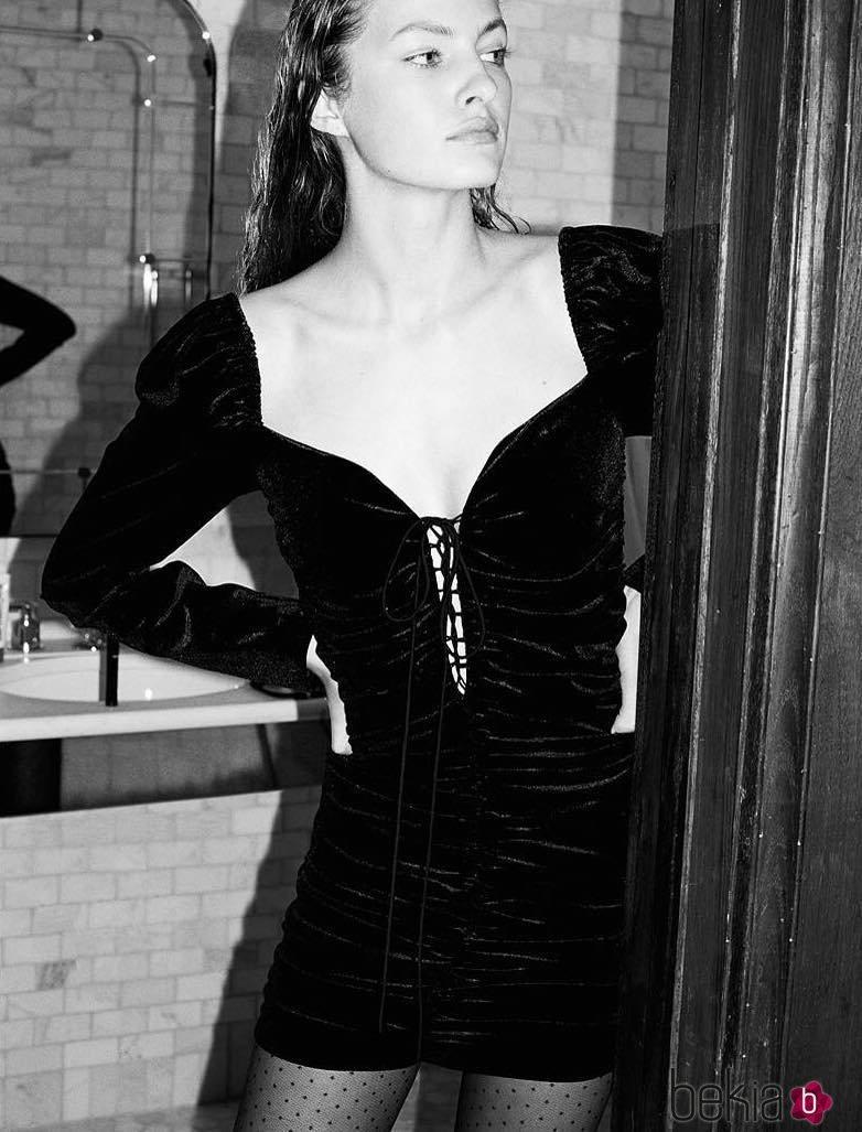 Vestidos de zara en negro