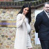 Meghan Markle con un vestido de H&M en un acto oficial en Londres