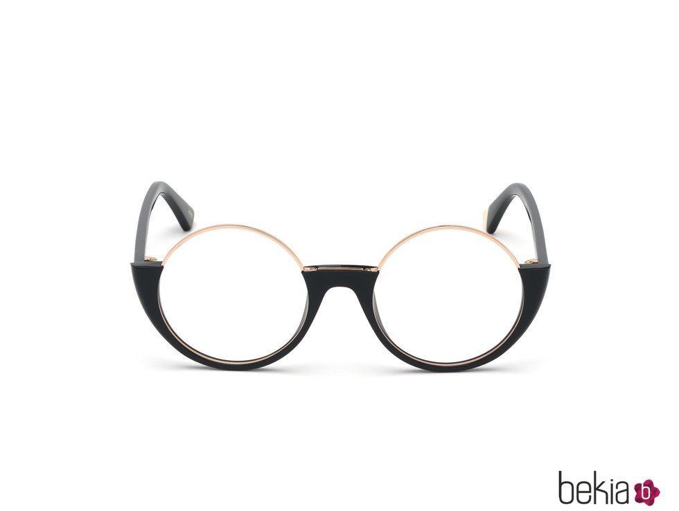 Gafas negras nueva colección de Marcolin