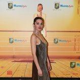Ana Rujas con un vestido brillante en el estreno de 'Muerte en el Nilo'