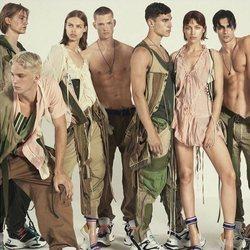 Irina Shayk posa para la campaña primavera/verano 2019 de Desquared2