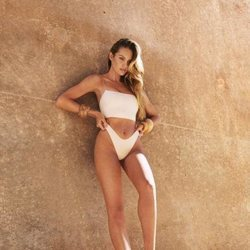 Bikini blanco de la colección resort 2019 de Tropic of C