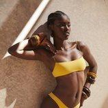 Bikini mostaza de la colección resort 2019 de Tropic of C