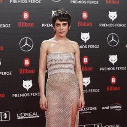 María León con un original vestido en los Premios Feroz 2019