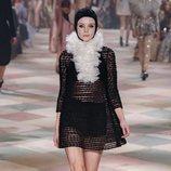 Vestido mini de la colección de Alta Costura de Christian Dior para primavera/verano 2019 presentada en París