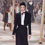 Pantalón bombacho de la colección de Alta Costura de Christian Dior para primavera/verano 2019 presentada en París