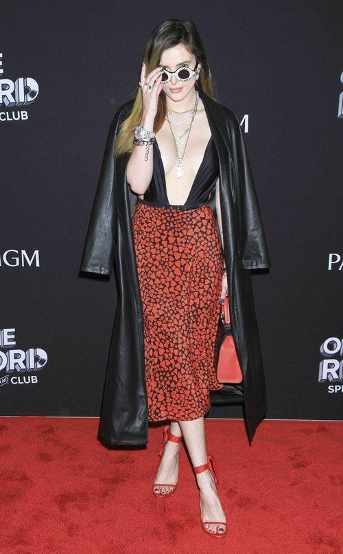 Bella Thorne en la inauguración de On The Record Club