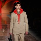Traje de chaqueta marrón de hombre de la colección primavera/verano 2019 de Pedro del Hierro