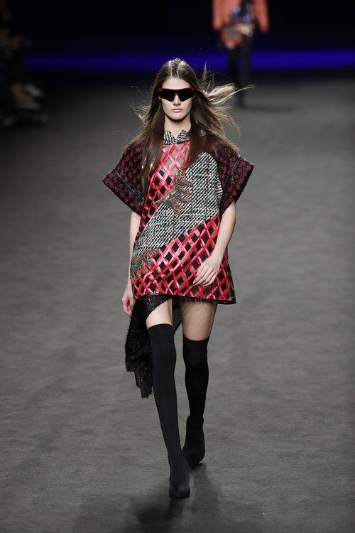 Mini vestido de la colección otoño/invierno 2019 de Custo Barcelona