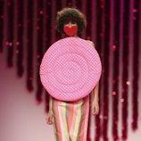 Top en forma de espiral de la colección otoño/invierno 2019-2020 de Ágatha Ruiz de la Prada