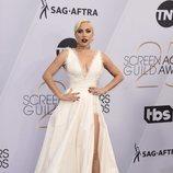 Lady Gaga con un vestido de Dior en los SAG Awards 2019