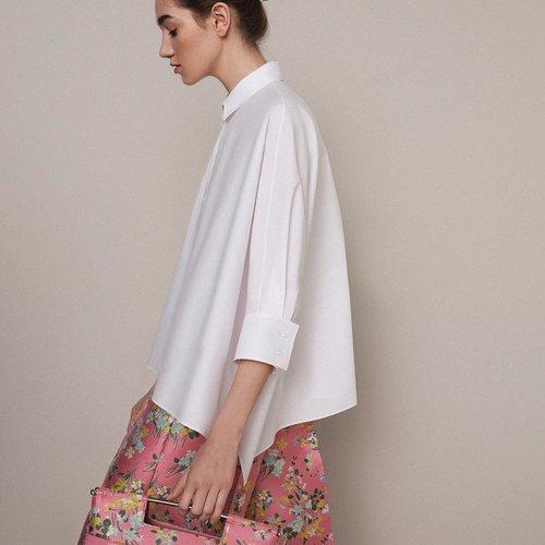 Camisa blanca colección Pre-Fall 2019 de Delpozo