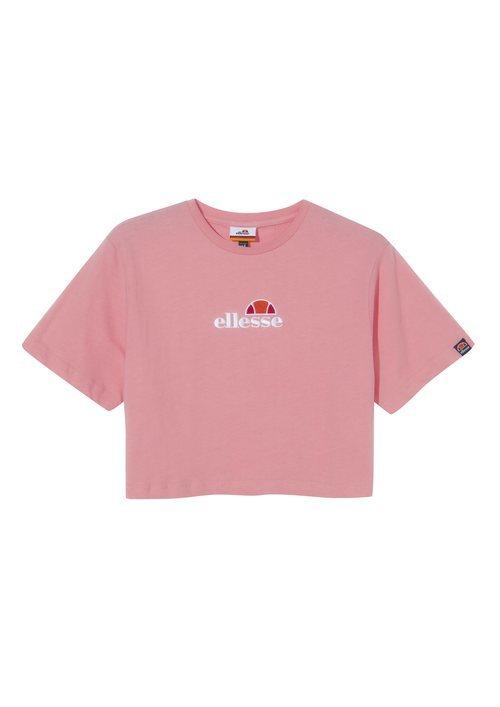 Camiseta cropped de la colección primavera/verano 2019 de Ellesse