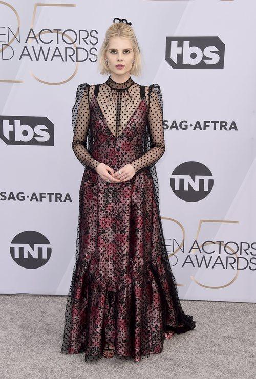 Lucy Boynton en los SAG Awards 2019