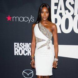 Naomi Campbell en el Fashion Rocks
