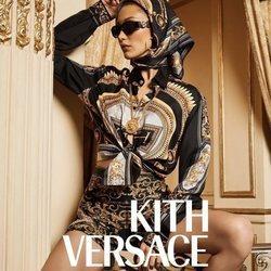 Bella Hadid como imagen de la colaboración de Kith x Versace