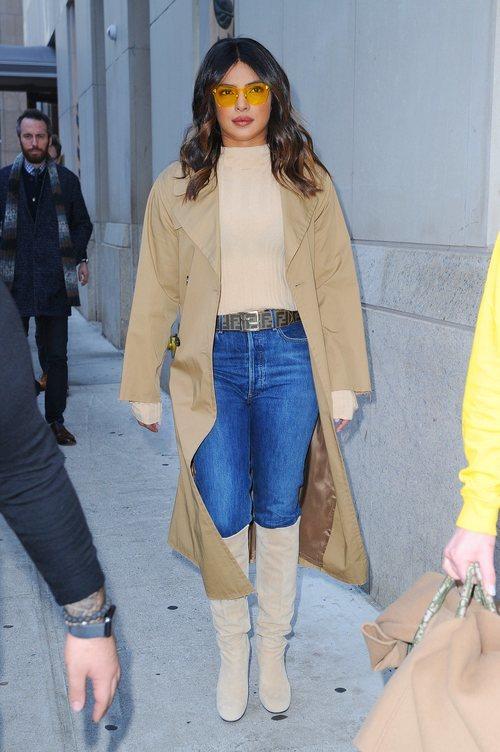 Priyanka Chopra con un look casual