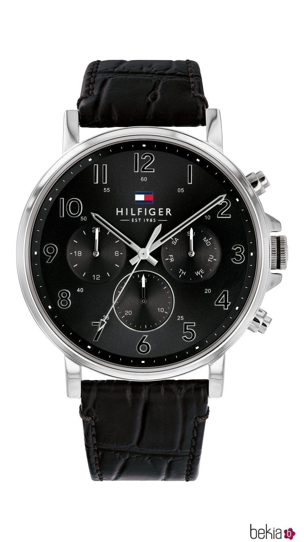 Reloj en color negro de Tommy Hilfiger Watches de la colección de San Valentín 2019 para hombre