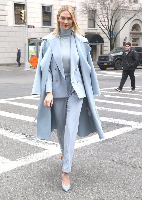 Karlie Kloss en el desfile de Ralph Lauren otoño 2019 en la ciudad de Nueva York