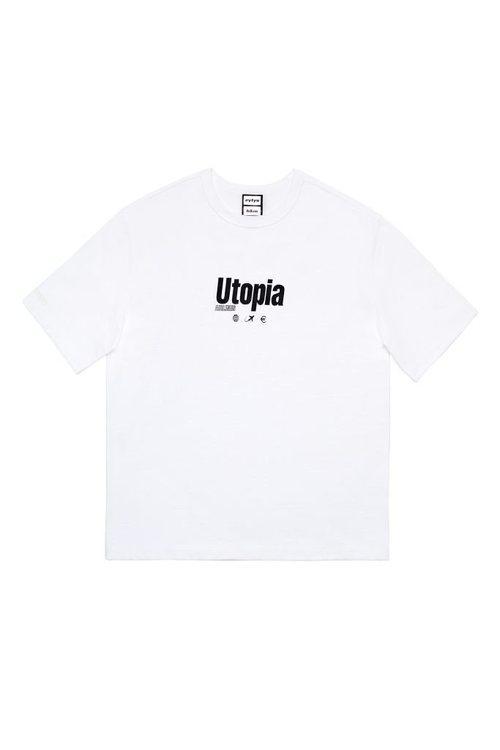 Camiseta con estampado 'Utopía' de la colección 'HMxEYTYS'