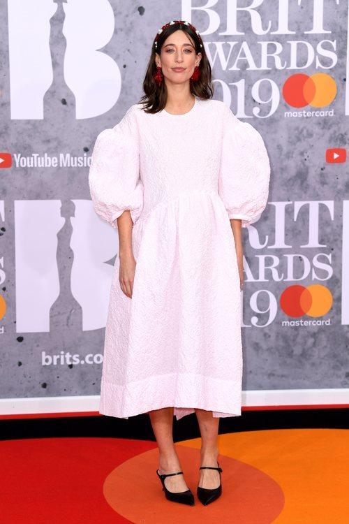 Laura Jackson muy 'abombada' en los Brit Awards 2019