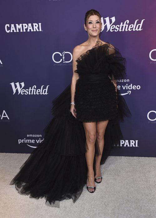 Kate Walsh en los premios CDG 2019 con un vestido negro de tul