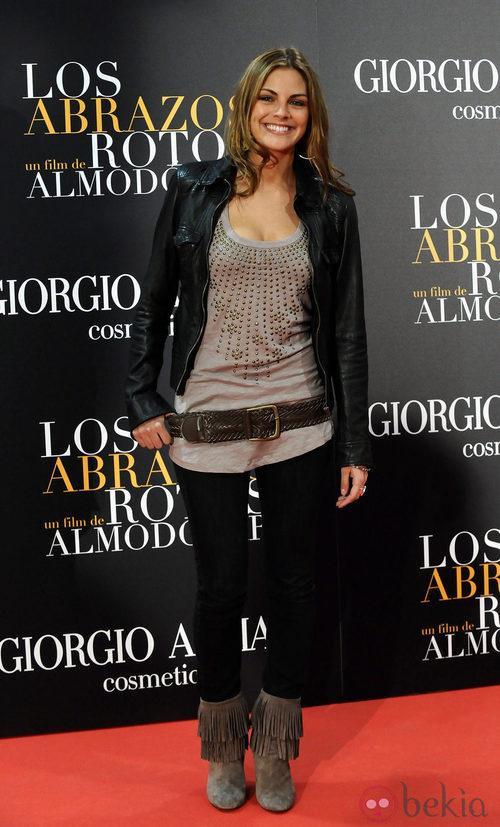 Amaia Salamanca con un estilo muy rockero