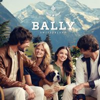 Miranda Kerr junto a otros modelos posan para la firma Bally