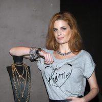 Olivia de Borbón posando al promocionar unas joyas de la marca Aristocrazy
