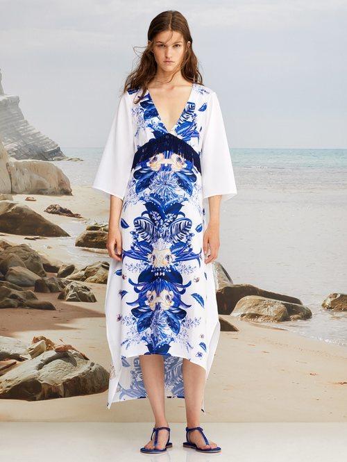 Vestido blanco de la colección 'Beachwear' de Liu Jo