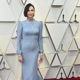 Charlize Theron con un vestido de Dior en la alfombra roja de los Premios Oscar 2019