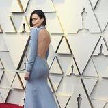El escote trasero del vestido de Dior que Charlize Theron lució en la alfombra roja de los Premios Oscar 2019
