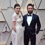 Marta Nieto con un vestido de novia de Delpozo en a alfombra roja de los Premios Oscar 2019