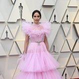 Kacey Musgraves de rosa pomposo en los Premios Oscar 2019