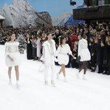 Penélope Cruz desfilando para Chanel para la colección otoño/invierno 2019/2020 en París