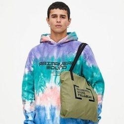 Sudadera oversize tie-dye colección Primavera Sound Pull & Bear