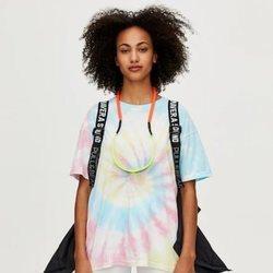Camiseta de manga corta tie-dye colección Primavera Sound Pull & Bear