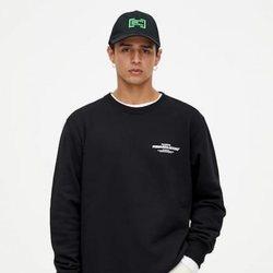 Jersey negro colección Primavera Sound Pull & Bear